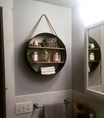 Rustic Bathroom Shelf, From Hobby Lobby - In Love!! | My Projects ... Budget Decorating Ideas For Your Guest Bathroom 21 Small Homey Home Design Christmas Decorating Your Deep Finished Wicker Baskets And Decorative Horse Wall Tile On Walls 120531 Tiles Designs Colors 18 Bathroom Wall Ideas Yellow Decor Pictures Tips From Hgtv Beauteous At With For Airpodstrapco How Important 23 Of And