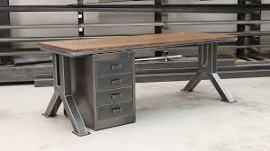 Long Rustic Industrial Furniture Ideas