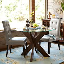 Pier One Glass Dining Room Table by Round Glass Table Top Pier 1 Imports