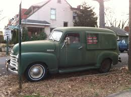 100 Chevrolet Panel Truck Autoliterate 1950 Thriftmaster Conversion