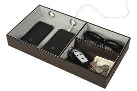 Mens Leather Dresser Valet by Jackcubedesign Multi Valet Tray Leather Desk Or Dresser Organizer