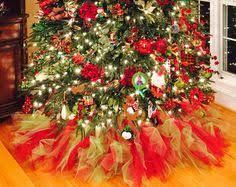 White Christmas Tree Skirt Walmart by Snowman Christmas Tree Mesh Ribbon Mesh Tree Skirt Items From