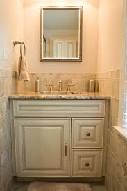 Beige Bathroom Tile Ideas by Bathroom Design And Remodel With Beige Grey Tile Traditional
