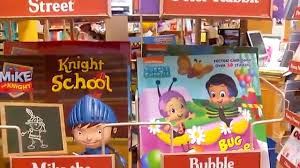 Barnes & Noble Book Shopping Video Kids Character Storytime