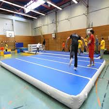 Gymnastic Floor Mats Canada by 8m Inflatable Gym Mat Air Track Tumbling Floor Gymnastics Home