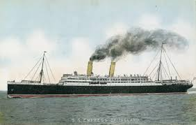 Where In Ireland Did The Lusitania Sink by Rms Empress Of Ireland Wikipedia