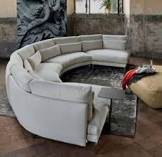 archiexpo canapé canape demi lune meuble de salon contemporain