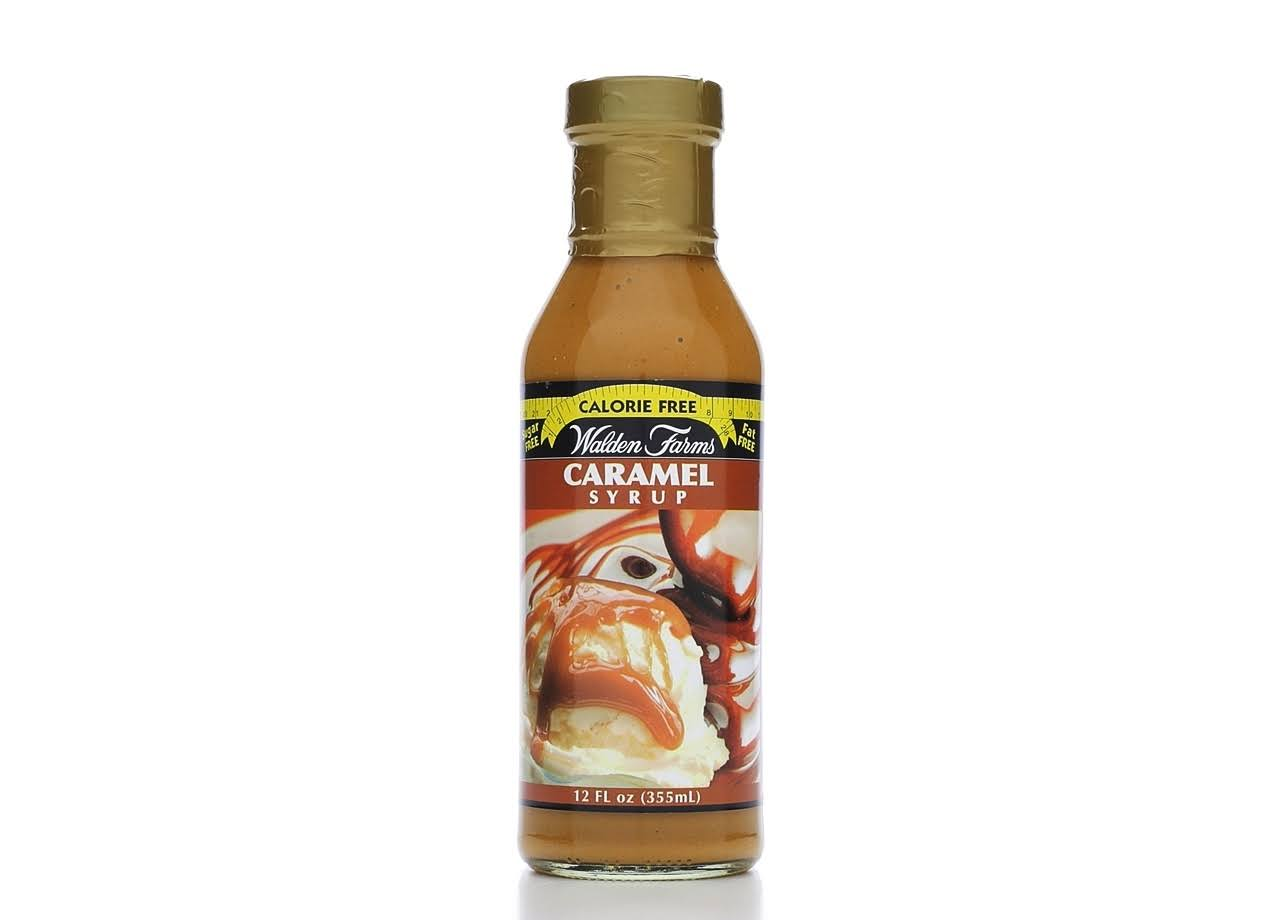 Walden Farms Near Zero Flavoured Syrup - Caramel, 355ml