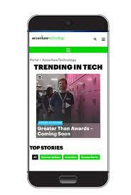 Accenture Portal Brings a New Digital Era of Internal munications