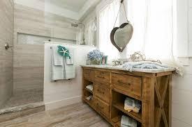 Rustic Beach Bathroom Vanity