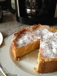 pfirsich pudding kuchen 18 cm springform kochmeister rezept