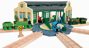 Thomas The Train Tidmouth Shed Trackmaster by Amazon Com Fisher Price Thomas The Train Wooden Railway Tidmouth
