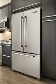 48 Cabinet Depth Refrigerator by Kitchenaid Kfcp22exmp Pro Line Series 21 8 Cu Ft Counter Depth