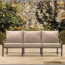 Hampton Bay Sanopelo Patio Furniture Replacement Cushions by Wicker Patio Furniture Replacement Cushions Patios Home