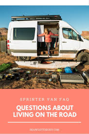 Curious About Van Life Get Answers In This Sprinter FAQ How To Find