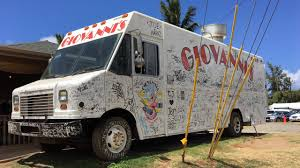 Top Food Truck In North Shore Oahu Hawaii - Giovanni's Shrimp ... Bisac Food Truck Hawaii News And Island Information Truck Covered In Graffiti Parked On The Side Of Road La Going Banas For Bann Honolu Psehonolu Pulse Famous Trucks At North Shore Oahu Usa Serving Traditional Hawaiian Poke Fusion Cuisine Geste Shrimp Mauis New Crave Hooulu Culture Home Carts Something New Kings Frolic Top 5 Maui Travel Leisure Koloa Kauai Hi September 2017 Yellow Stock Photo 719085205
