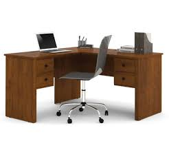 Bush Cabot L Shaped Desk Dimensions by L Shaped Desk With Bookshelf Nucleus Home