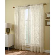 Sears Ca Kitchen Curtains by 84 Inch Sheer Window Panel Find Voile Curtains At Sears And Kmart