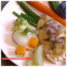 cuisine bar poisson bar à la colbert ou en portefeuille au four de