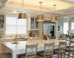 Country Kitchen Decorating Ideas On A Budget Brown Dining Room Table Chairs Wooden Block Breakfast Bar