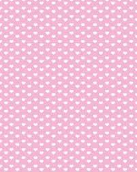 White Hearts On Pink Background