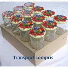 pots de confiture vides pot à facettes 324 ml avec couvercle au choix livraison sous 72 h