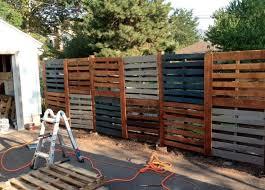 best 25 pallet privacy fences ideas on pinterest backyard