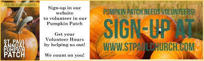 Pumpkin Patch Tampa by St Paul Catholic Church U0026 Preschool Welcome