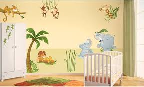 stickers jungle chambre bébé stickers jungle stickers chambre enfant leostickers