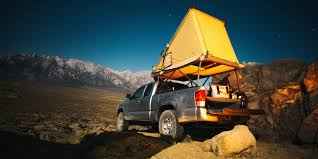 100 Pickup Truck Tent Camper Go Fast Adds A Modular Tent To Just About Any Truck