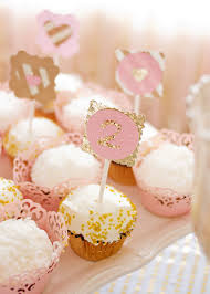 Pink And Gold Birthday Themes by Kara U0027s Party Ideas Pink U0026 Gold Second Birthday Party