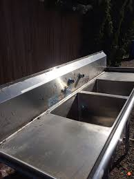 Stainless Steel Fish Cleaning Station With Sink by Large Stainless Steel Sink Fish Cleaning Table Www Ifish Net