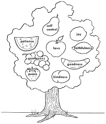 Fruit Of The Spirit Coloring Page