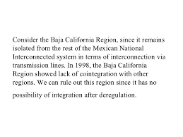 43 Consider The Baja California