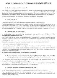 comment connaitre bureau de vote comment voter pour françois fillon le 18 novembre lionel tardy