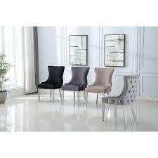 leo stuhl stuhl schwarzer stuhl silber stuhl esszimmer