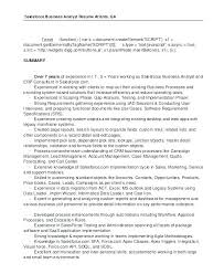 Business Analyst Resume Examples 2015 Packed With Adorable Resume