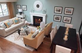 Contemporary Design Small Living And Dining Room Ideas Decorating Of