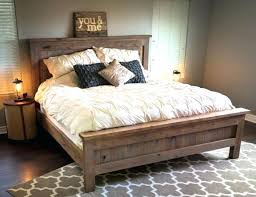 Farmhouse Style Bedroom Sets Wooden Furniture Pallet Works Farm