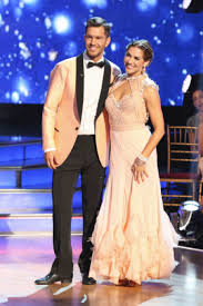 Andy Grammers DWTS Pro Partner Allison Holker Announces On Live TV That She Is Pregnant With