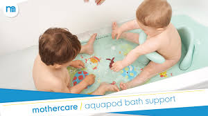 Infant Bathtub Seat Ring by Aquapod Baby Bath Support Mothercare Youtube