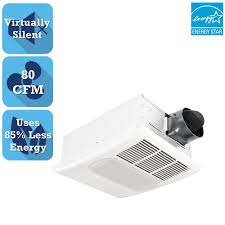 Panasonic Bathroom Exhaust Fans Home Depot by Delta Breez Radiance Series 80 Cfm Ceiling Bathroom Exhaust Fan