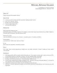 downloadable chronological resume template open office