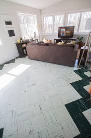 Covering Asbestos Floor Tiles With Ceramic Tile by Painting The Living Room Floor Tiles Part I