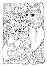 Dogs Coloring Page By Dandi Palmer