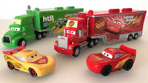 Disney Pixar Mack Truck And Disney Cars Lightning Mcqueen Toys Cars ...