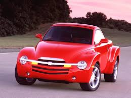 2003 Chevrolet SSR Pickup Convertible - Red - Front - 1280x960 Wallpaper