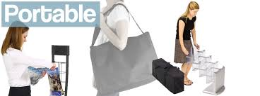 Featured Product Lines Portable Magazine Racks