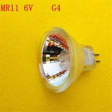 5pcs g4mr11 6v 5 10 15 20 25 30w halogen cup microscope bulb