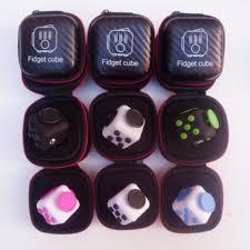 Carbon Fiber Fidget Cube Case